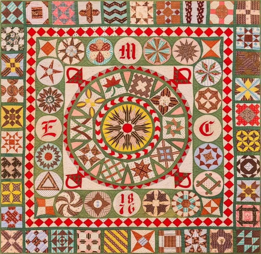A Centennial Quilt from Lopez Island Quilter Studio.
