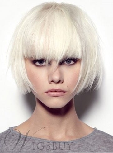 Stylish Dapper Short Rocker Hairstyle from WigsBuy.