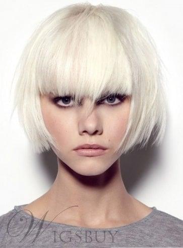 Stylish Dapper Short Rocker Hairstyle from WigsBuy.
