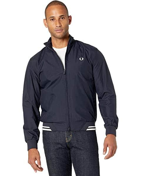 Man wearing sports coat.