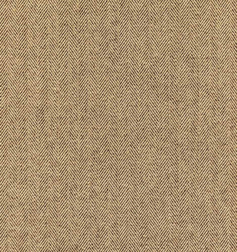 A close look at a beige cotton twill pattern.