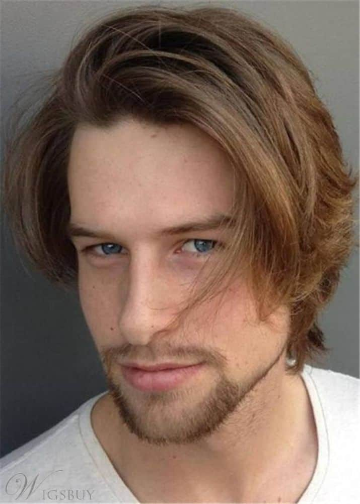 Side Part Wavy Hairstyle from Wigsbuy.
