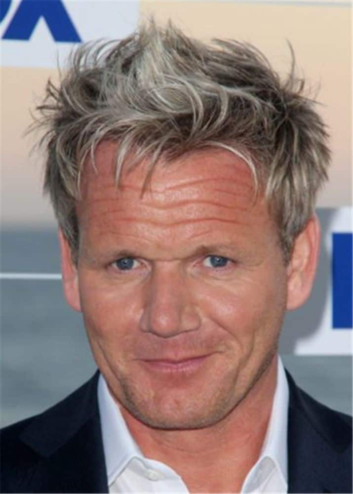 Gordon Ramsay Hairstyle Human Hair Full Lace Wig from Wigsbuy.