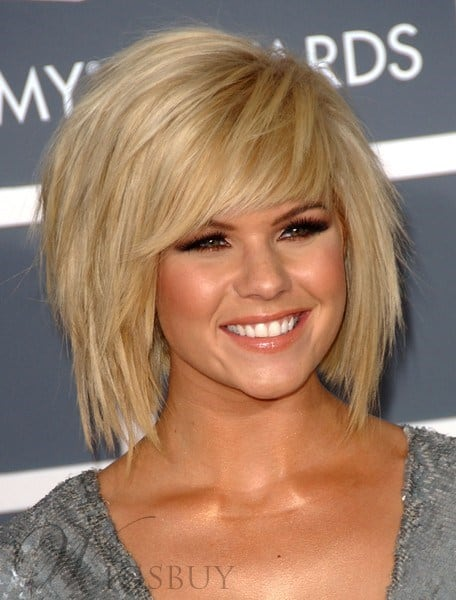 The Fabulous Bob Hairstyle Blonde Wig from WigsBuy.