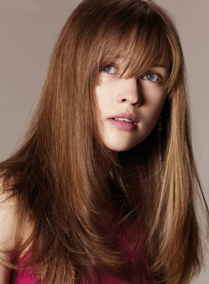 Long Layered Cut Hairstyle from WigsBuy.