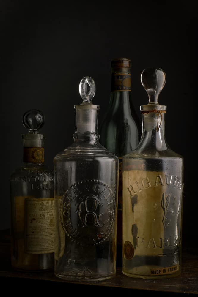 Vintage European Eau de cologne bottles