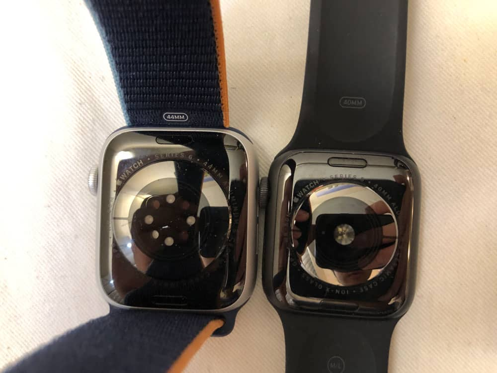 apple watch series 6 vs 5 back