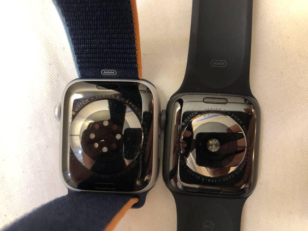 apple watch series 6 vs 5 back