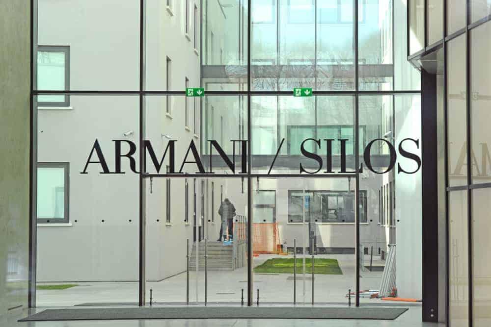 Armani Silos museum in Milan , Italy.