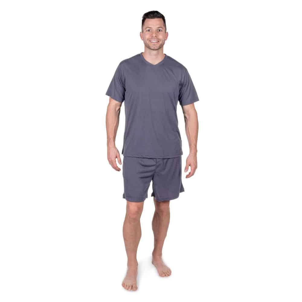 Cool-Jams Men's Moisture Wicking Boxer Pajama Set