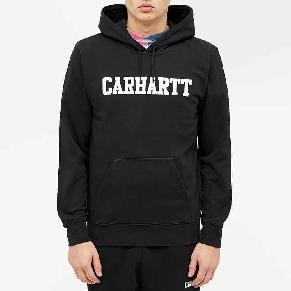 The Carhartt WIP Hooded College Sweat from End Clothing.
