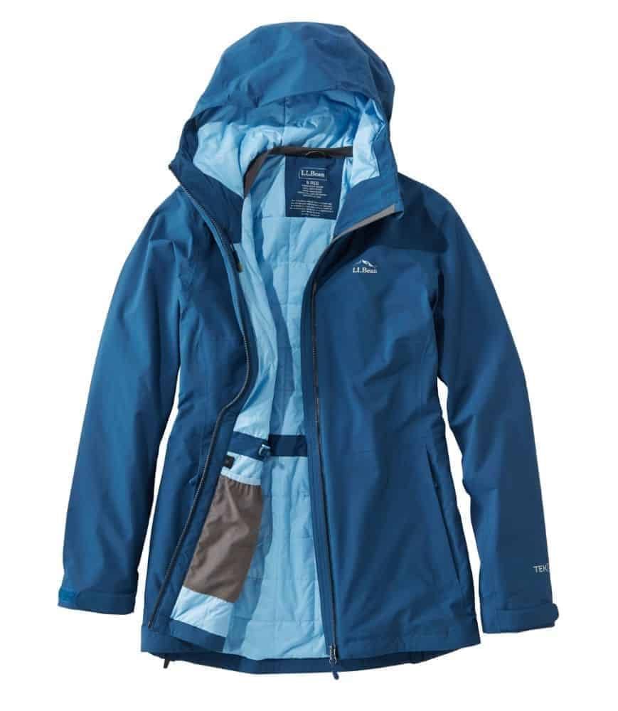 L.L. Bean Women's Waterproof PrimaLoft Packaway Jacket