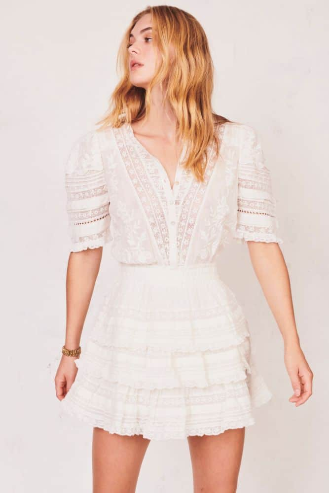 Love Shack Fancy Quincy Dress