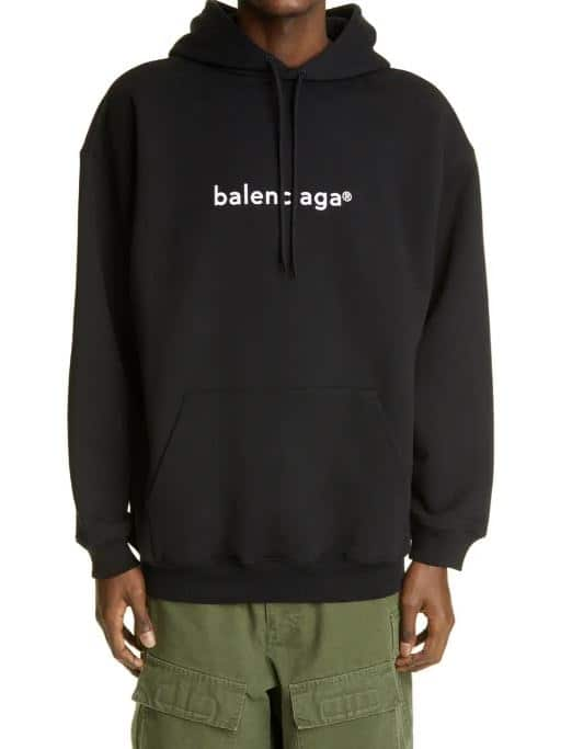 The Balenciaga copyright logo hoodie from Nordstrom.