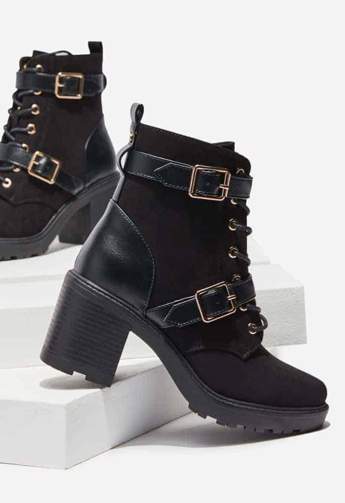 ShoeDazzle Abrianna Chunky Block Heel Bootie