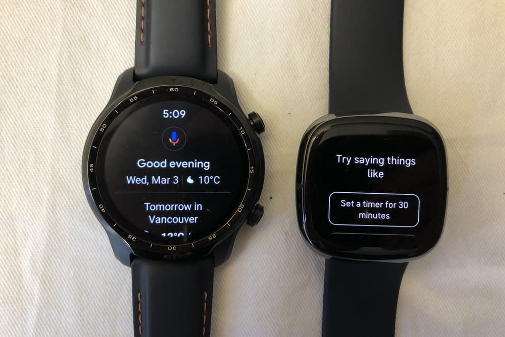 ticwatch pro 3 vs fitbit sense