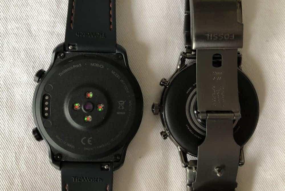 ticwatch pro 3 vs fossil gen 5 carlyle