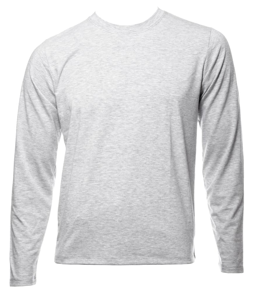 This is a close look at a long-sleeved undershirt.