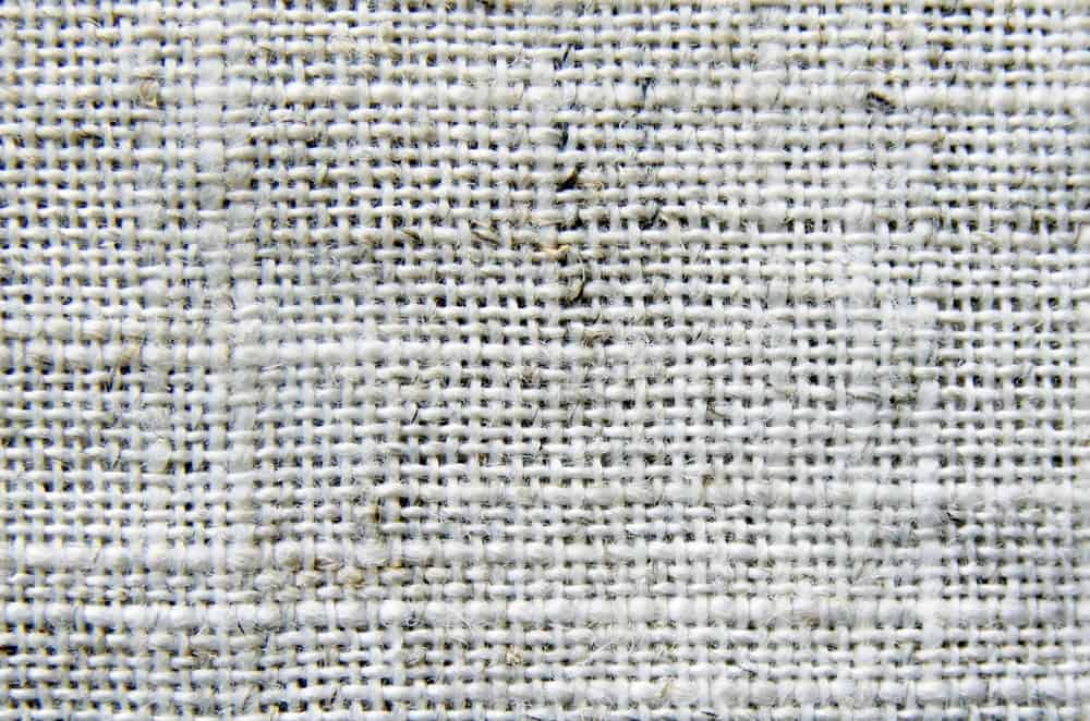 This is a close look at a weaved piece of cloth.