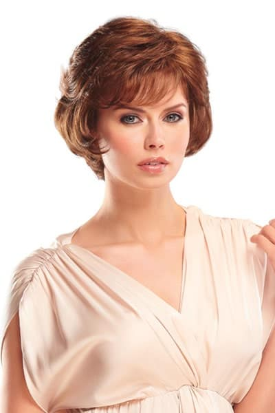 Open Cap Wig with Synthetic Hair