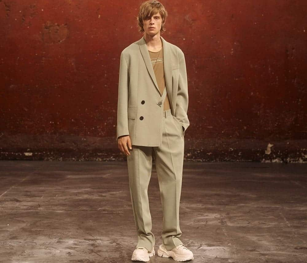 The Spring/Summer 2021 'Co-Ed' Collection from Wooyoungmi.