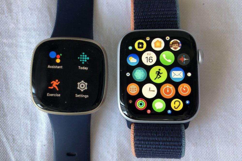 apple watch series 6 vs fitbit versa 3