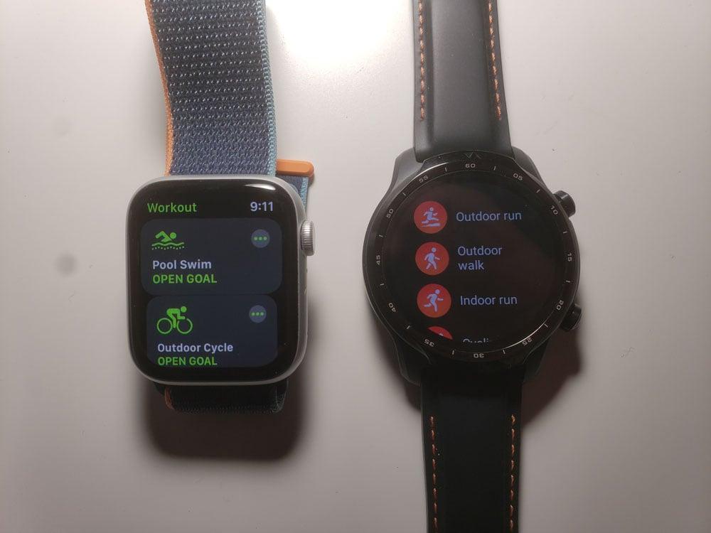 Apple Watch Series 6 vs Ticwatch Pro 3