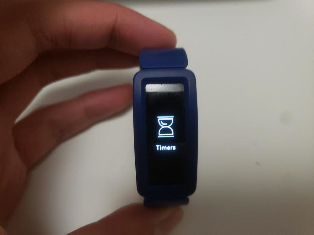 fitbit ace 2 timer