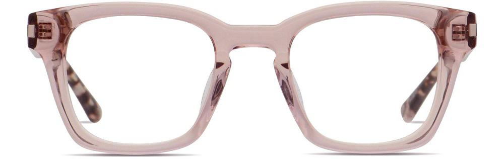The Muse X Hilary Duff Grace Clear glasses from Glasses USA.