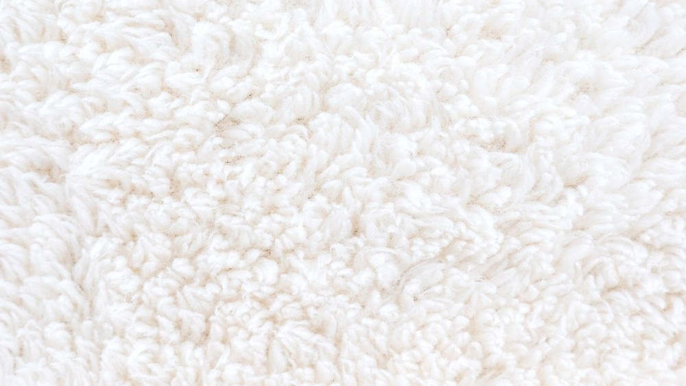This is a close look at a Fleece Knit fabric.