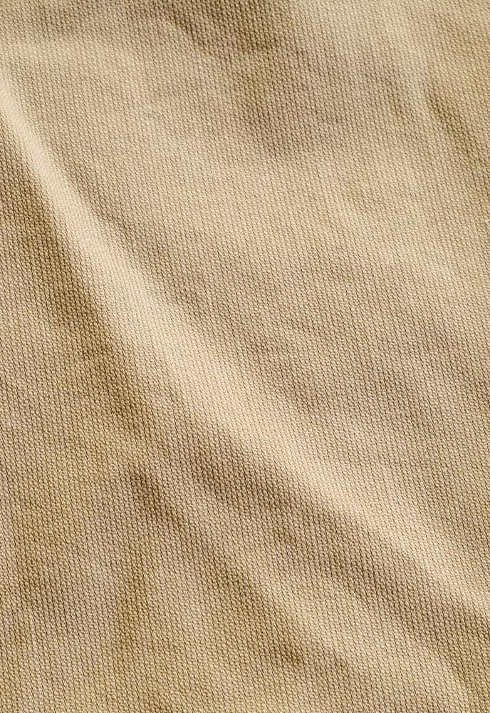 This is a close look at a khaki Chino fabric.