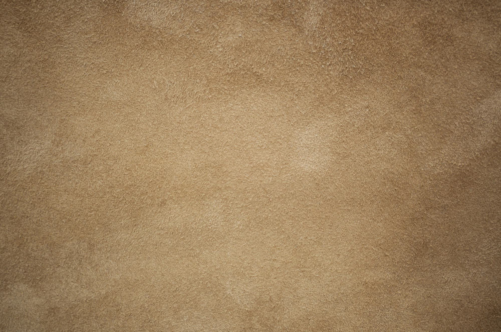 This is a close look at a piece of brown Chamois leather fabric.