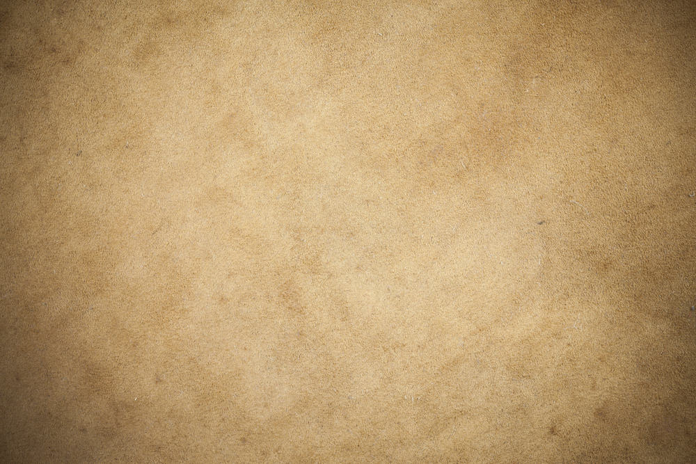 This is a close look at a brown piece of Kangaroo Leather.