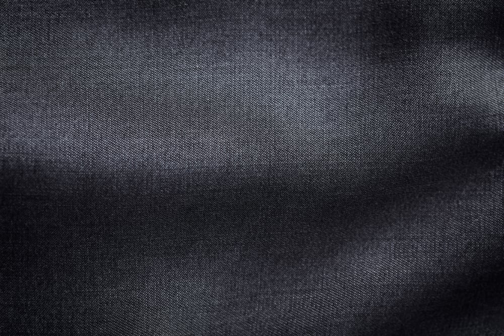 This is a close look at a dark Rayon Lyocell Fabric.