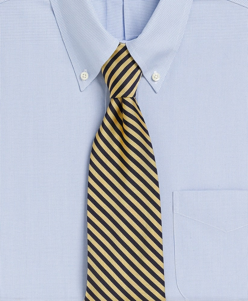 The BB #5 Rep Tie from Brooks Brothers.