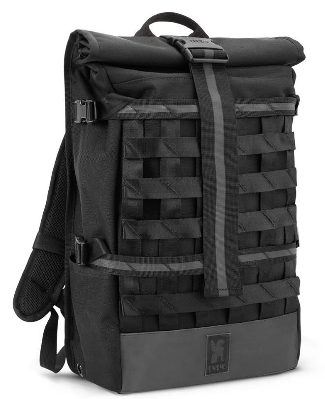 The Night Barrage Cargo Backpack from Chrome Industries.