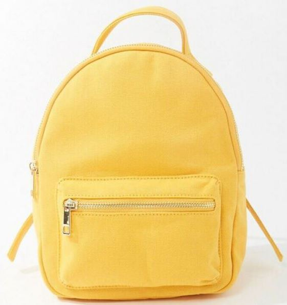 The Unstructured Canvas Backpack from Forever 21.