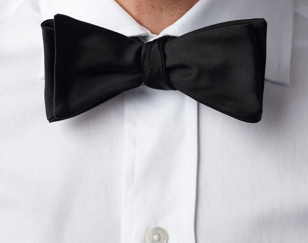 This is the black monroe bow tie from Ledbury.