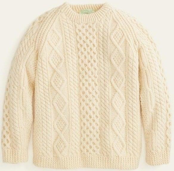 The Vintage Irish Fisherman Sweater from Marine Layer.