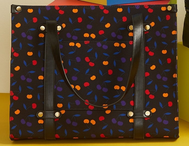 The Camp Director Zipped Tote Cherry bag from ModCloth.