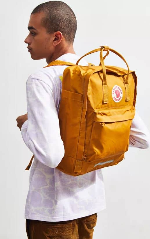 The Fjallraven UO Exclusive Kanken Big Backpack from Urban Outfitters.