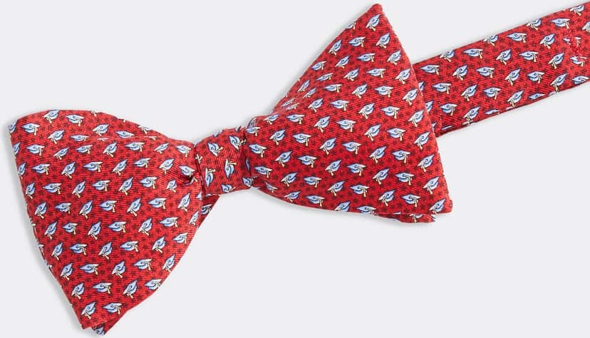 The Graduation Caps Printed Bow Tie from Vineyard Vines.
