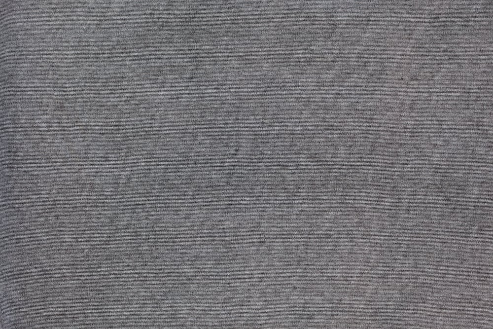 This is a close look at a gray cotton modal fabric.