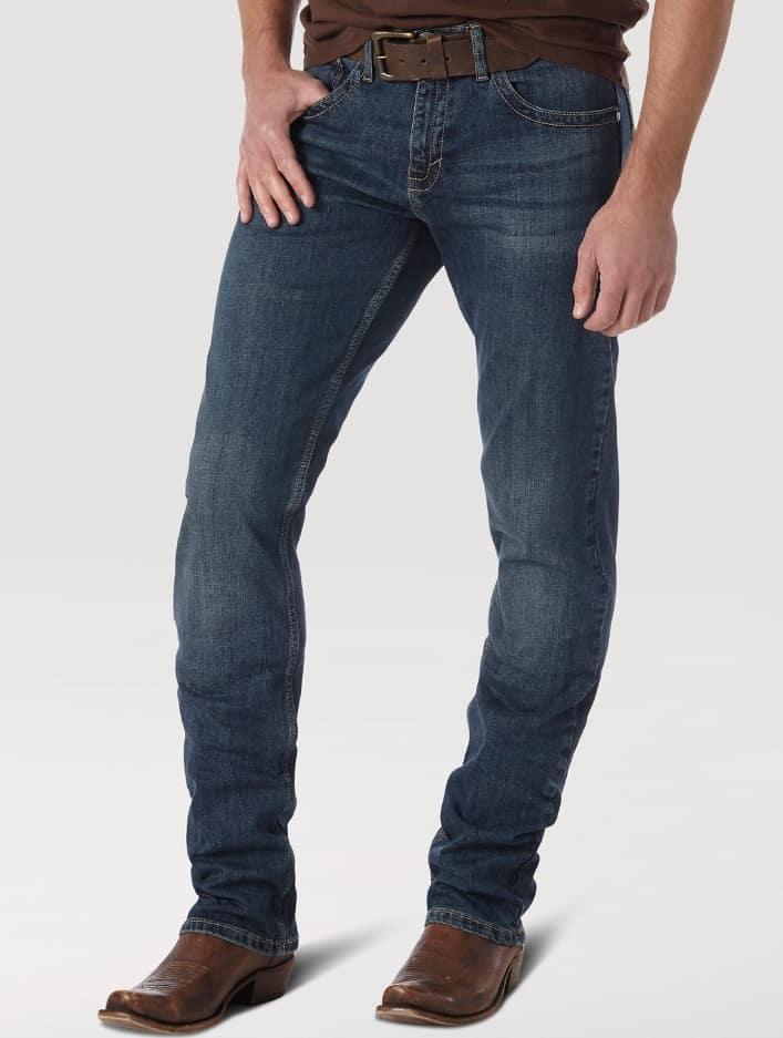 Men's Slim Fit Straight Leg Jeans in McAllen from Wrangler.