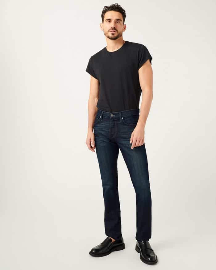 The Paxtyn Clean Pocket Skinny Jeans from 7 For All Mankind.