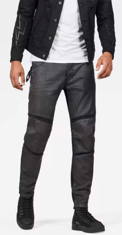 The Motac 3D Slim Jeans in black from G-Star.