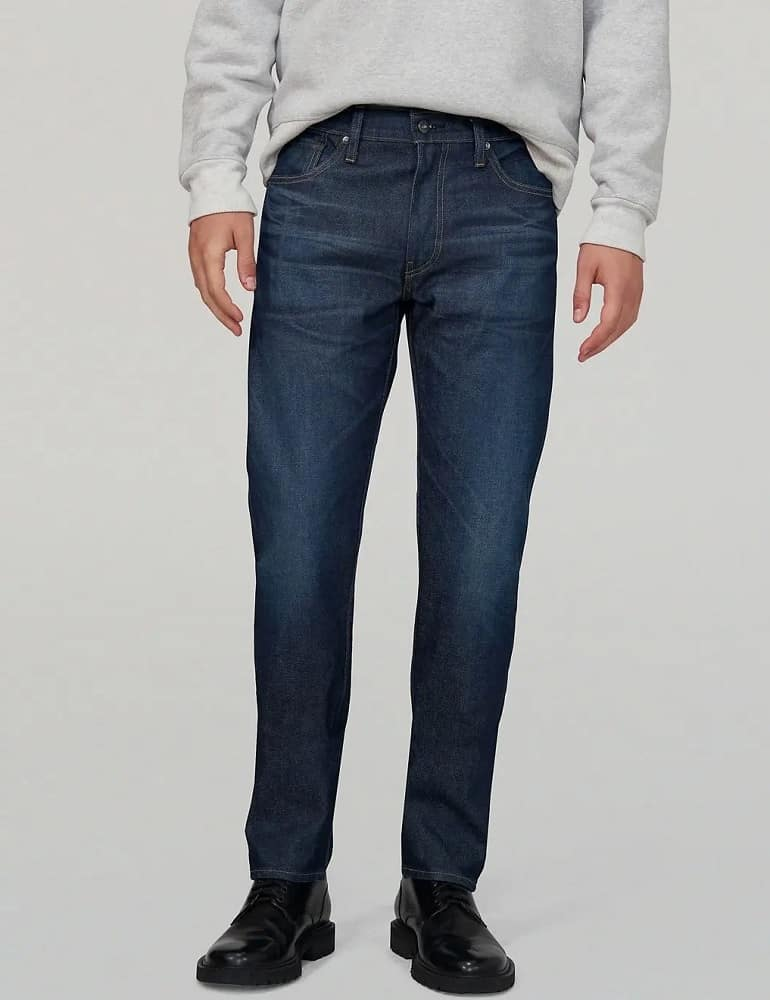 The Levi's® Men's Made & Crafted® 511™ Slim Jeans in blue.
