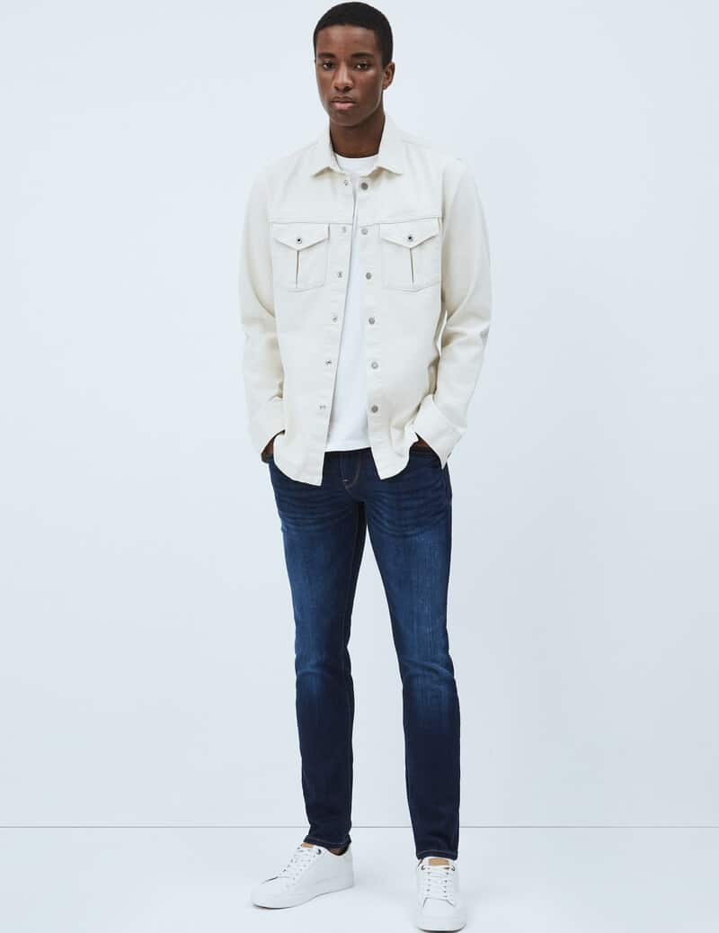 The Hatch Slim Fit Low Waist Jeans from Pepe Jeans.