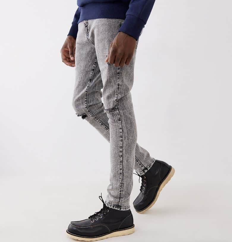 The Jack Super Skinny Jeans from True Religion.