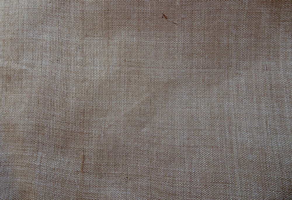 This is a close look at a piece of tasar silk.